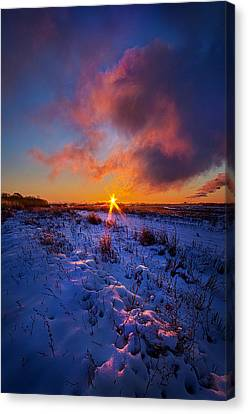 In Memory Of Canvas Print by Phil Koch