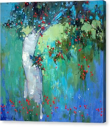 In My Garden Canvas Print by Anastasija Kraineva