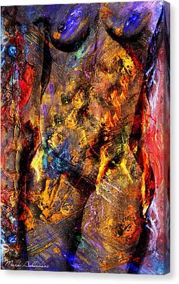 Figurative. Lady Canvas Print - In My Mind  by Mark Ashkenazi