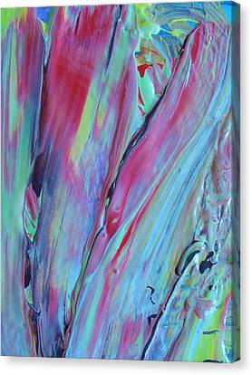 In No Sense Canvas Print by Artist Ai
