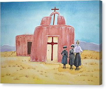 In Old New Mexico II Canvas Print by Michele Myers