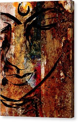 In Peace Canvas Print by Kathy Morton Stanion