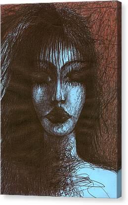 In Quiet Canvas Print by Wojtek Kowalski