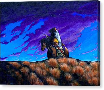 In Search Of The Vanished Canvas Print by Joe  Triano
