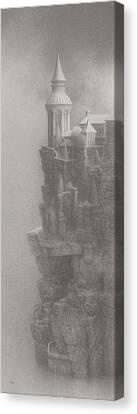 In Silence Canvas Print by Mark  Reep