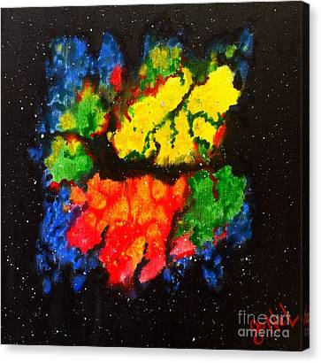 In Space Canvas Print by JoNeL Art