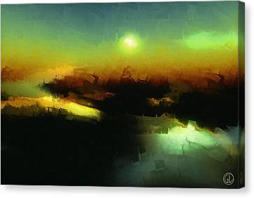 In The Afternoon Sun Canvas Print by Gun Legler