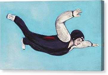 In The Air Canvas Print by Anastasiya Malakhova