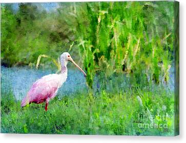 Canvas Print featuring the photograph In The Bayou #1 by Betty LaRue
