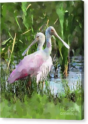 Canvas Print featuring the photograph In The Bayou #2 by Betty LaRue