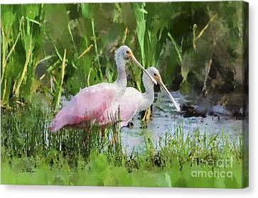 Canvas Print featuring the photograph In The Bayou #3 by Betty LaRue