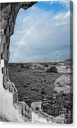 Outdoor Canvas Print - In The Beauty Of Abandoned 03 by Arik Baltinester
