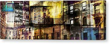 In The City Canvas Print by Jeff Klingler