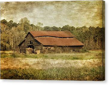 Bales Canvas Print - In The Country by Kim Hojnacki