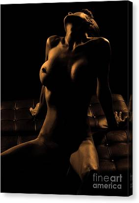 In The Dark Canvas Print by Exposed Arts
