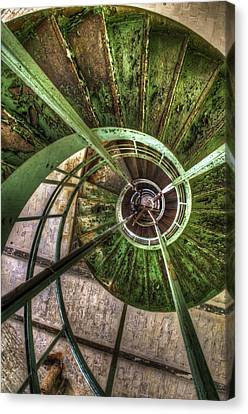 In The Eye Of The Spiral  Canvas Print by Nathan Wright