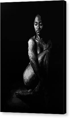 In The Flesh Xi Canvas Print by Alison Schmidt Carson