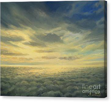 In The Footsteps Of Icarus Canvas Print by Kiril Stanchev