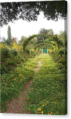 In The Garden  Canvas Print by Kristine Bogdanovich