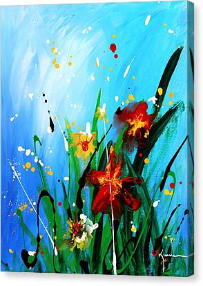 In The Garden Canvas Print by Kume Bryant