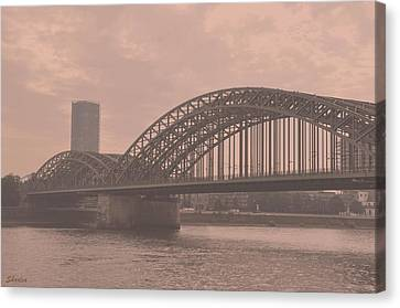 In The Heart Of Cologne Canvas Print
