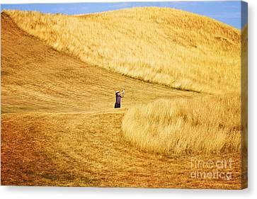 In The Hills Canvas Print by Scott Pellegrin