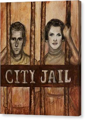 In The Jailhouse Now Canvas Print by Regina Brandt