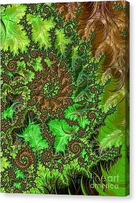 In The Jungle  Canvas Print by Heidi Smith