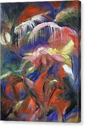 In The Jungle Canvas Print by Roberta Rotunda