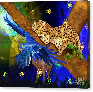 In The Jungle Canvas Print by Sydne Archambault