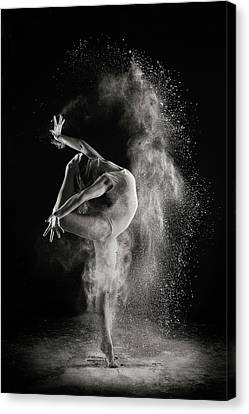 Ballet Dancers Canvas Print - In The Light by Shades And Light