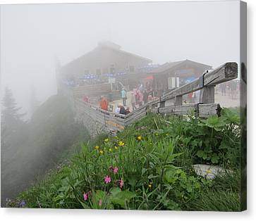 Canvas Print featuring the photograph In The Mist by Pema Hou