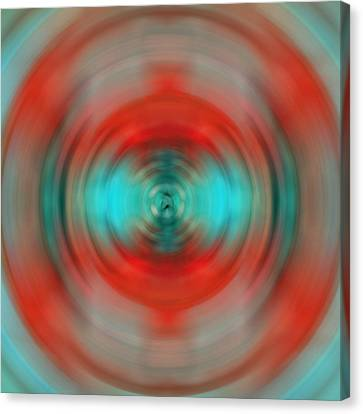 Enlightenment Canvas Print - In The Moment - Energy Art By Sharon Cummings by Sharon Cummings