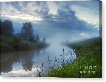 Harmonious Canvas Print - In The Morning At 02.57 by Veikko Suikkanen