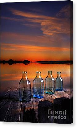 In The Morning At 4.33 Canvas Print by Veikko Suikkanen