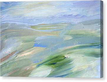 In The Open Canvas Print by Tanya Byrd