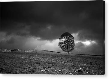In The Peak District Canvas Print
