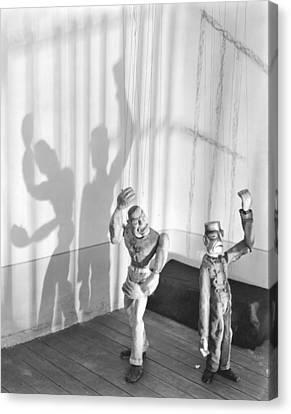 Marionette Canvas Print - In The Prison Cell, 1929 by Tina Modotti
