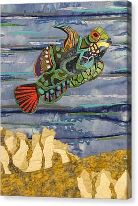 In The Reef Canvas Print by Lynda K Boardman