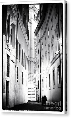 In The Shadows Canvas Print by John Rizzuto