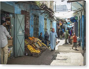 In The Souk Canvas Print