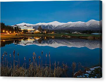 In The White Mountains Canvas Print