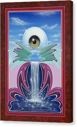 In The Wink Of An Eye Canvas Print