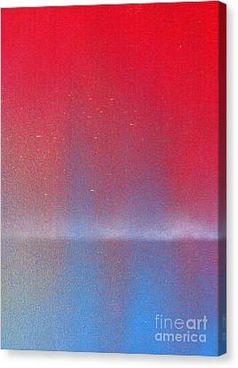 Canvas Print featuring the painting In This Twilight by Roz Abellera Art
