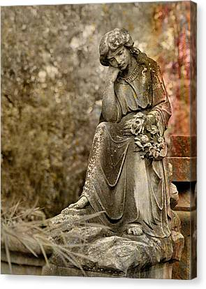 In Thought Canvas Print by Gothicrow Images