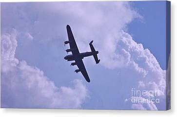Canvas Print featuring the photograph In To The Clouds by John Williams