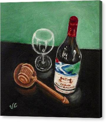 In Vino Veritas 2 Canvas Print