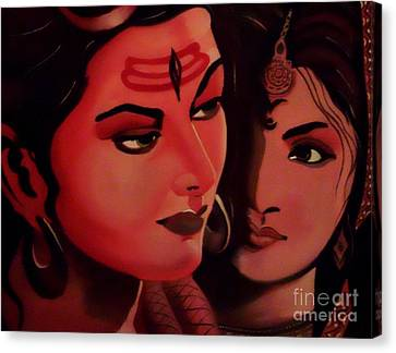 In Your Light Canvas Print by Meenakshi Malhotra