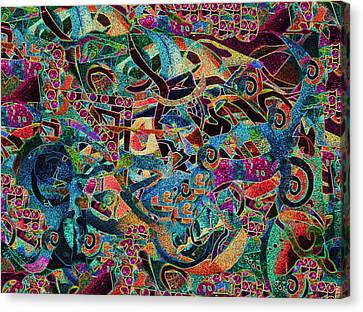 Inbetween Realms  Canvas Print