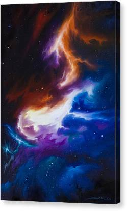 Incarus Nebula Canvas Print